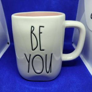 Rae Dunn Be You coffee cup